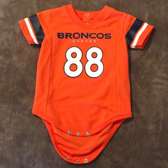 denver broncos baby jersey